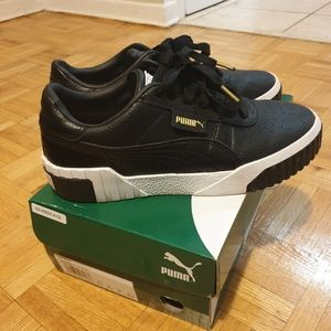 Puma Cali Womens Leather Sneakers- size 8